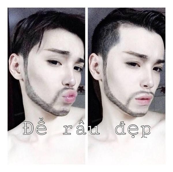 Bộ mặt thật của anh chàng hóa thân giống hệt Hà Hồ đang gây sốt