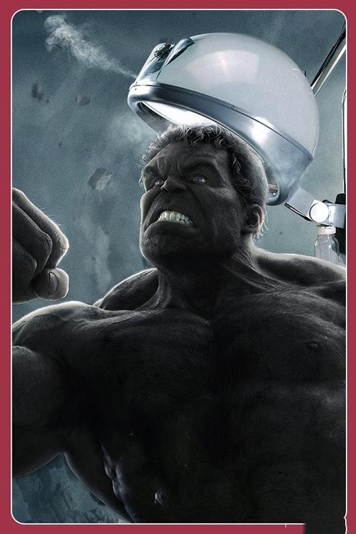 Ai làm chủ hiệu làm đầu cho Hulk thì cẩn thận đó nha. Một khi tóc Hulk không đẹp là có chuyện đấy. (Ảnh: Internet)