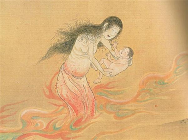 Ubume thườngdụ dỗ người khác giữ dùm con của cô tại các giao lộrồi bỏ đi.