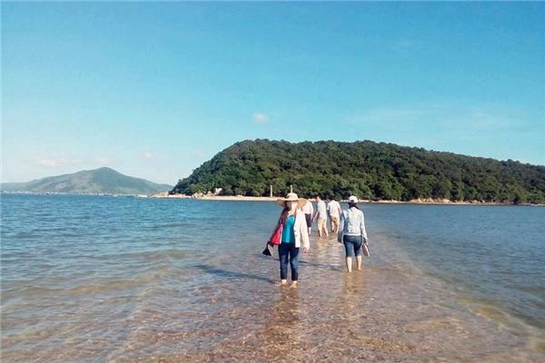Con đường giữa biển tuyệt đẹp. (Ảnh: Internet)