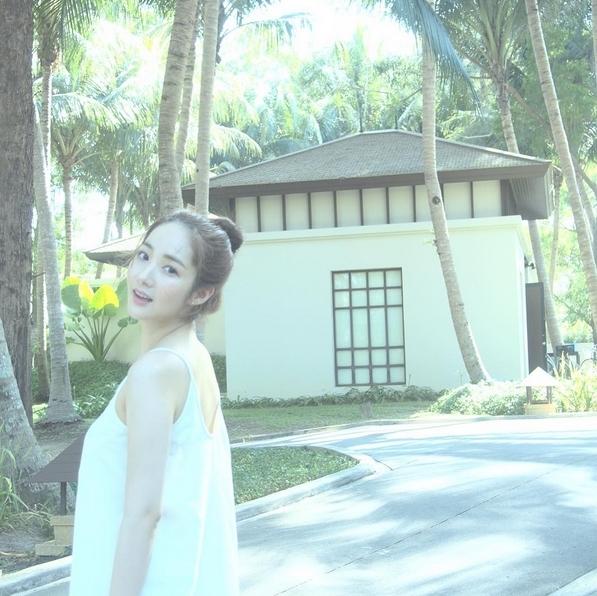 Hình ảnh tại Thái Lan được Park Min Young chia sẻ