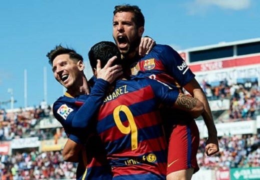 Messi và Barcelona đoạt La Liga lần thứ 6 trong 8 năm