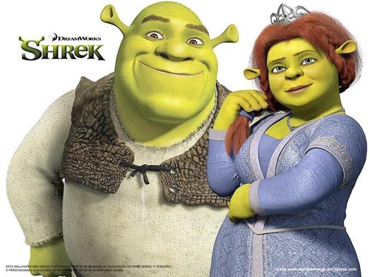 Shrek: Một chàng trai học cách yêu một cô gái không dùng camera 360.