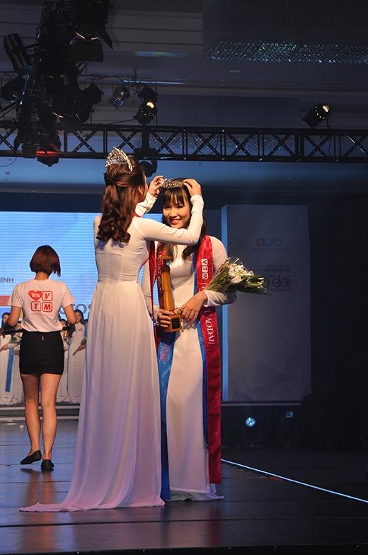 Năm 2015, danh hiệu Miss Áo dài nữ sinh Việt Nam thuộc về bạn Phạm Ngọc Phương Anh đến từ trường THPT Chuyên Lê Hồng Phong.