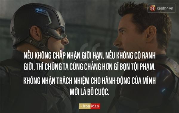 11 câu nói thâm sâu trong Captain America: Civil War bạn không thể quên