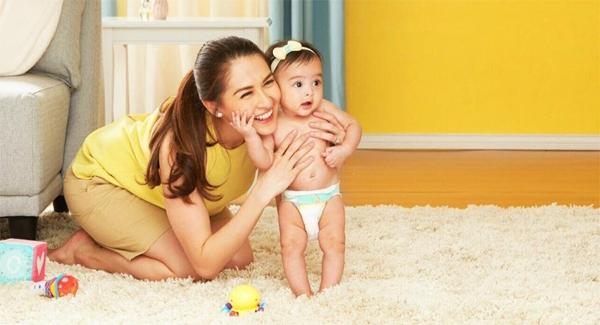 Marian Rivera và con gái trong quảng cáo mới.