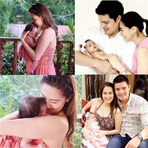 Gia đình nhỏ và hạnh phúc của Marian Rivera và Dingdong Dantes.