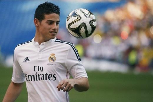 James Rodriguez đang không hạnh phúc ở Real Madrid và có thể rời Bernabeu ngay trong hè này.