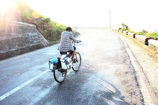 Hành trình của anh Khương mất 1 tháng 7 ngày để về tới đích.