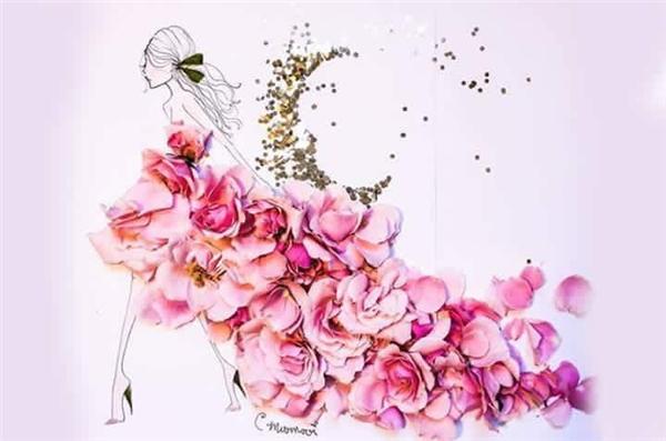 Những bộ váy hoa khiến người xem không thể rời mắt 1 giây