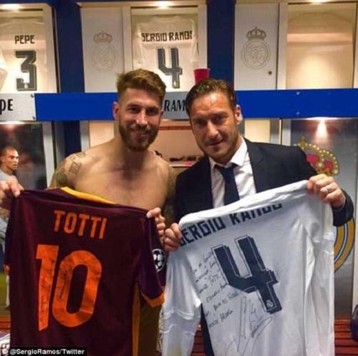 Real từng rất thèm muốn Totti (phải), nhưng không bao giờ thành công