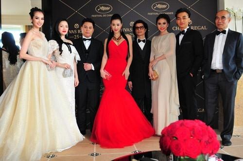 Dàn sao Việt từng góp mặt các các mùa LHP Cannes trước đây.