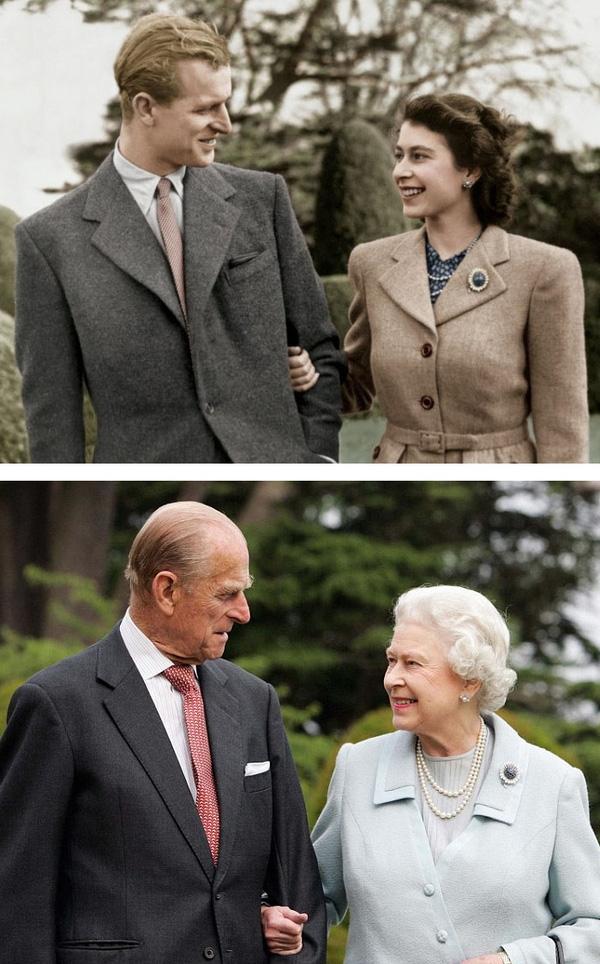 Chuyện tình đẹp như cổ tích của vợ chồng Nữ hoàng Anh Elizabeth và Hoàng tử Philip Sharing Smiles luôn khiến nhiều người ngưỡng mộ