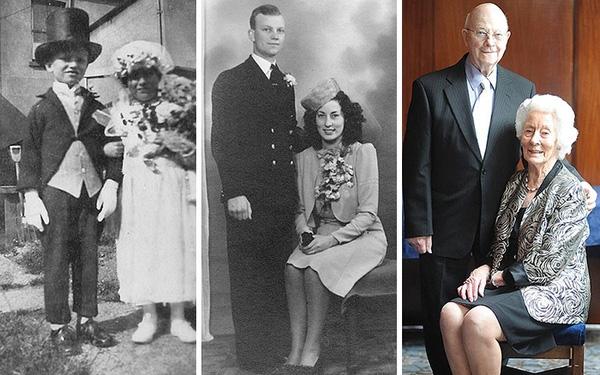 Họ gặp nhau từ năm 1926 để rồi đã có 70 năm bên nhau.