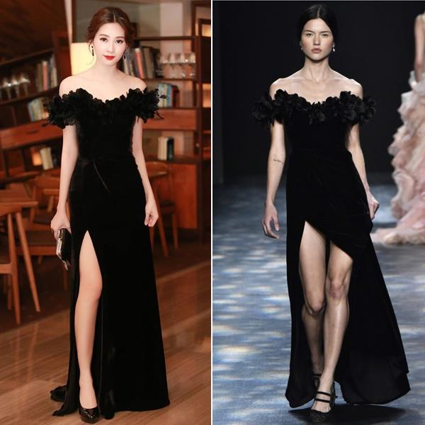 """Thời điểm đó, khi liên lạc với nhà thiết kế Lê Thanh Hòa, chủ nhân mẫu thiết kế thì anh từ chối trả lời về nghi án """"đạo"""" thiết kế."""