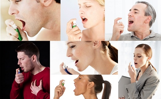 Sử dụng xịt thơm miệng là thói quen văn minh trong giao tiếp ở nhiều nước tiên tiến