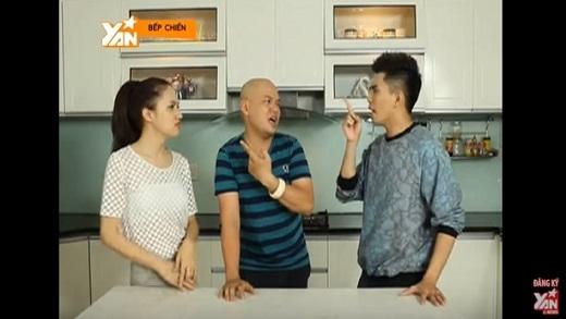 Bếp Chiến: Hương Giang Idol và Will (365) làm món bánh ướt cuộn chả cá (Phần 1)