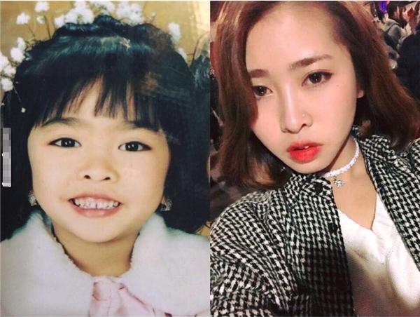 Thời gian đã giúp cô bé đáng yêu ngày nào càng trở nên xinh đẹp, quyến rũ.(Ảnh: Internet)