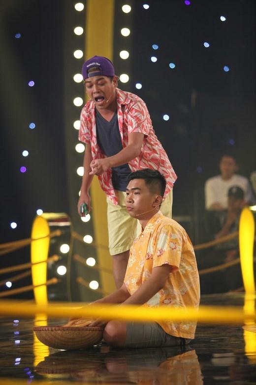 """Minh Dự - Thanh Tân, cặp đôi khiến công chúng phải """"cười lăn cười bò"""". - Tin sao Viet - Tin tuc sao Viet - Scandal sao Viet - Tin tuc cua Sao - Tin cua Sao"""