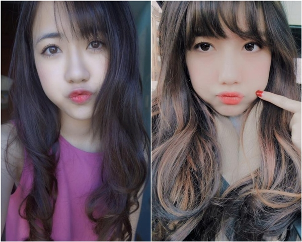 Phoanh Charmmie và Mie Nguyễn có nhiều điểm tương đồng từ khuôn mặt bầu bĩnh, đáng yêu đến nụ cười toả nắng. (Ảnh: Internet)