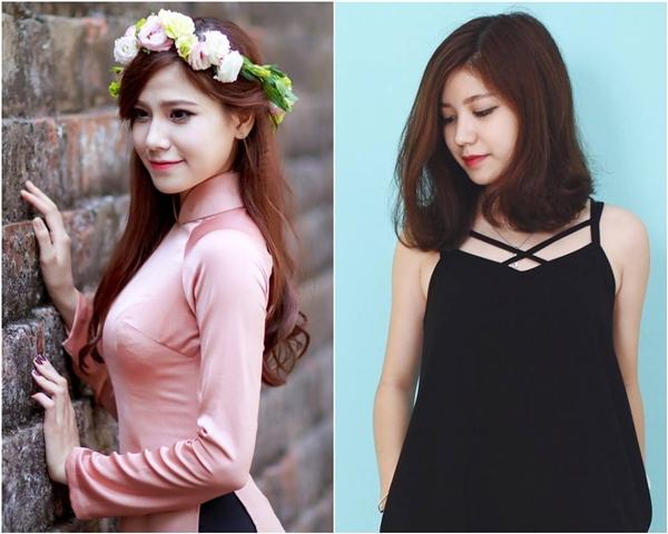 Bích Ngọc và An Japan từng khiến nhiều người bất ngờ khi đứng cạnh nhau trông lại giống như hai chị em đến thế. (Ảnh: Internet)