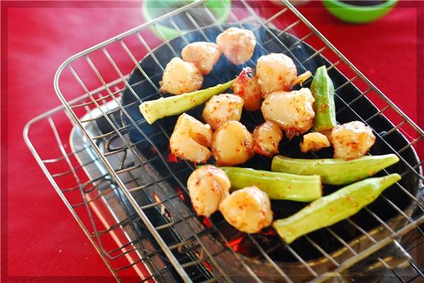 Còi Phú Quốc có thể chế biến được thành nhiều món nhưng ngon nhất là món nướng.(Ảnh: Internet)