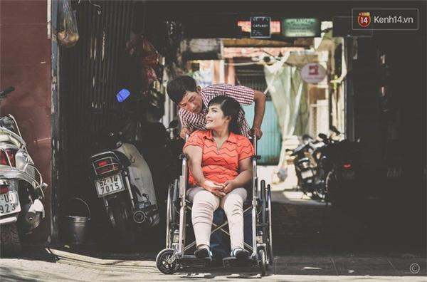 Bộ ảnh cưới của anh Đạt và chị Huyền được nhóm chụp ảnh từ thiện ABOB thực hiện xem như làm món quà cưới cho anh chị.