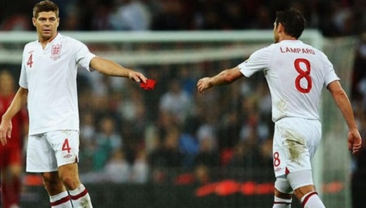 """Gerrard và Lampard khi còn chơi cho """"Tam Sư"""""""