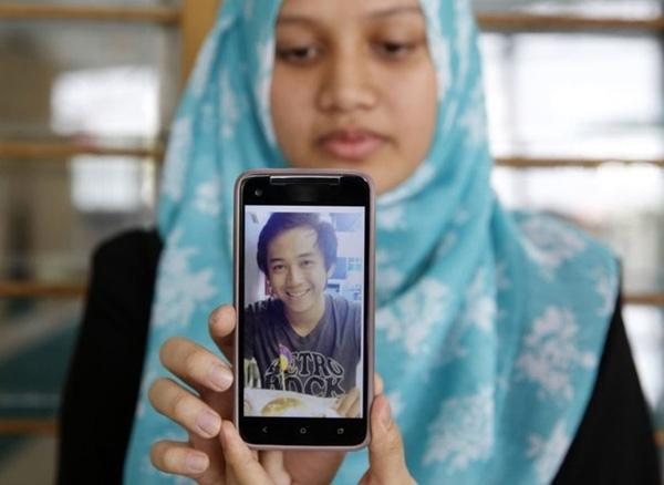 Mohd Afif Tambi Jiee, 19 tuổi, thiệt mạng trên chuyến bay MH17. Ảnh: Reuters