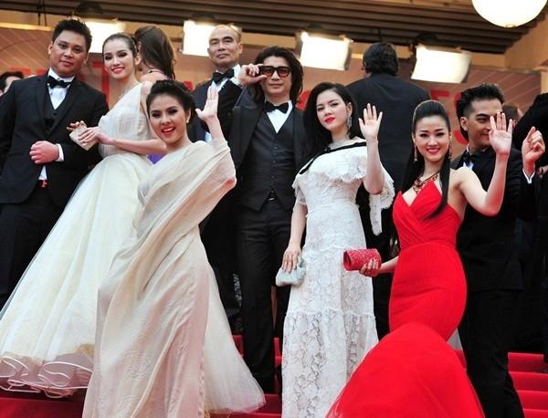 Dàn nghệ sĩ tham dự Cannes 2013.