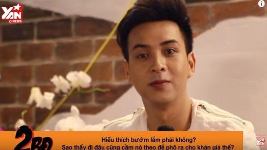 """[2BĐ] """"Con bướm xuân"""" Hồ Quang Hiếu lấp lửng chuyện... yêu trai?"""