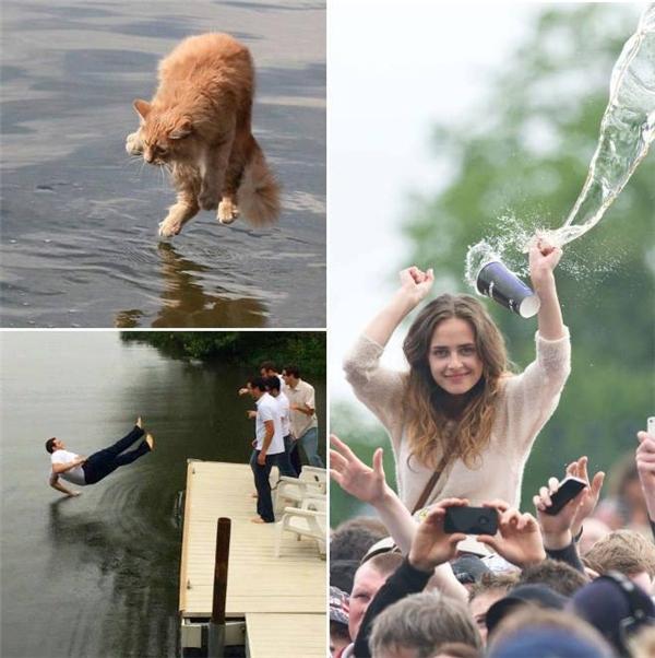 Nước có thể hại người đấy, bạn tin không?(Ảnh: Internet)