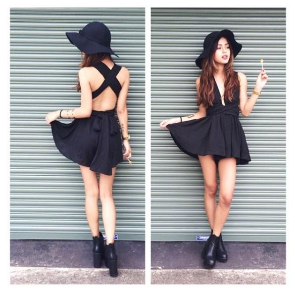 """Những kiểu váy ngắn luôn là lựa chọn hoàn hảo cho những cô nàng có vóc dáng """"hạt tiêu""""."""