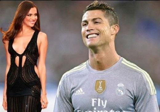 Ronaldo và siêu mẫu Irina Shayk đã chia tay 1 năm rưỡi. Ảnh:La10.