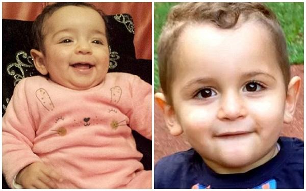 Cô bé Joumana (trái) và cậu bé Mohamed (phải) là những nạn nhân nhỏ tuổi nhất trong số 66 người thiệt mạng trong vụ tai nạn máy bay thảm khốc.