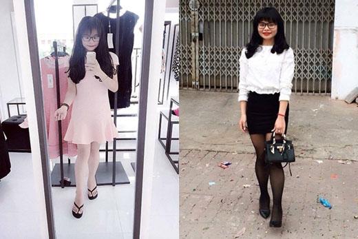 Trong vòng 8 tháng, cô nàng đã giảm được hơn 40kg.(Ảnh: Internet)