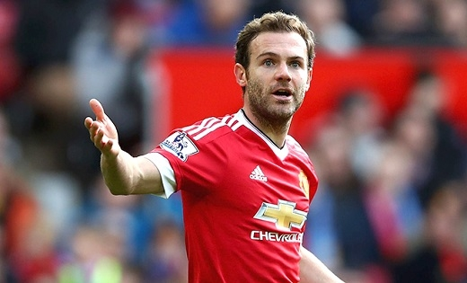 Juan Mata không phù hợp với lối chơi của HLV Jose Mourinho