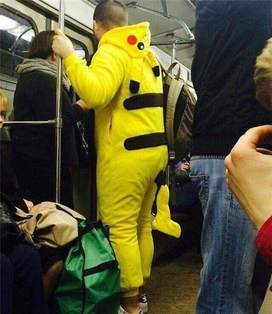 Cái đuôi của Pikachu...