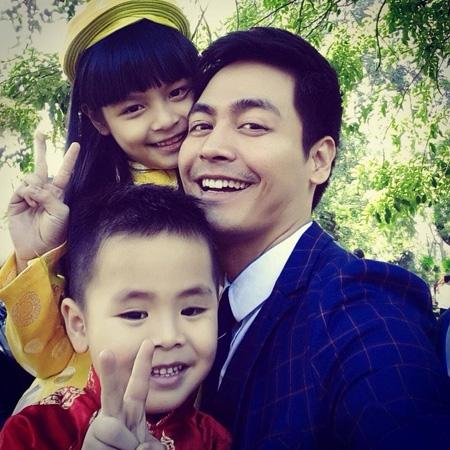 Loạt ảnh cha nào con nấy cực đáng yêu của sao Việt - Tin sao Viet - Tin tuc sao Viet - Scandal sao Viet - Tin tuc cua Sao - Tin cua Sao