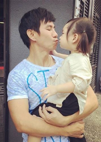 Lý Hải và con gái thứ hai - bé Cherry - Tin sao Viet - Tin tuc sao Viet - Scandal sao Viet - Tin tuc cua Sao - Tin cua Sao