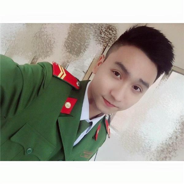Mọi người dễ nhầm Trung Anh thành một diễn viên, ca sĩ hay người mẫu hơn là một anh cảnh sát.(Ảnh: NVCC)