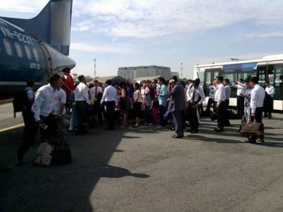 Một bức ảnh được chụp lén tại đám rước dâu bằng máy bay (Ảnh Trí thức trẻ)