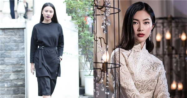 Ngay từ những phút đầu tiên xuất hiện, thí sinh Hầu Thị Trang Thanh khiến mọi người xung quanh vô cùng bất ngờ với vẻ ngoài đậm chất Á đông được nhận xét giống với hot girl Helly Tống.