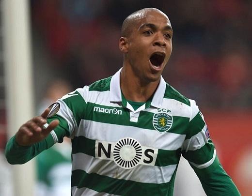 Tiền vệ: Joao Mario. Tiền vệ kiến thiết người Bồ Đào Nha đã được liên hệ để chuyển đến sân Old Trafford với giá 27 triệu bảng. Ảnh: Internet.