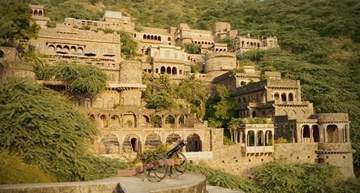 Địa điểm ma ám nổi tiếng ở Ấn Độ.(Ảnh: Internet)