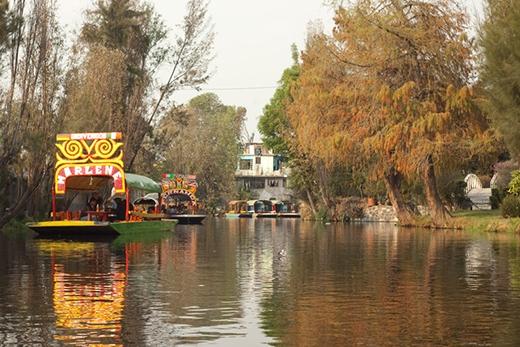 Nơi đậy trở thành điểm du lịch nổi tiếng của Mexico.(Ảnh: Internet)