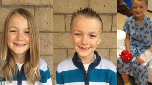 Câu chuyện buồn về cậu bé nuôi tóc dài hiến tặng bệnh nhi ung thư