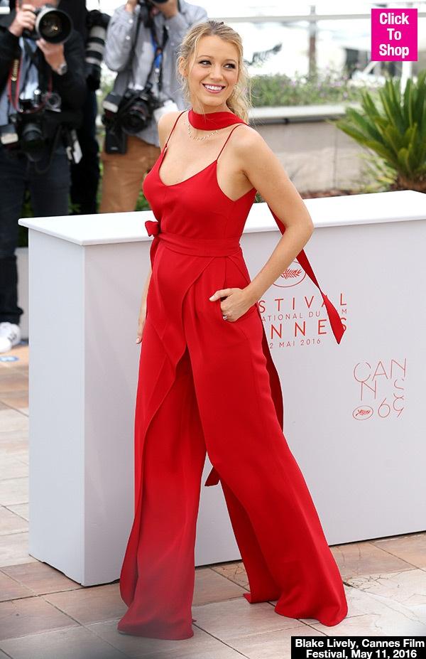 Blake Lively rạng ngời tại Cannes
