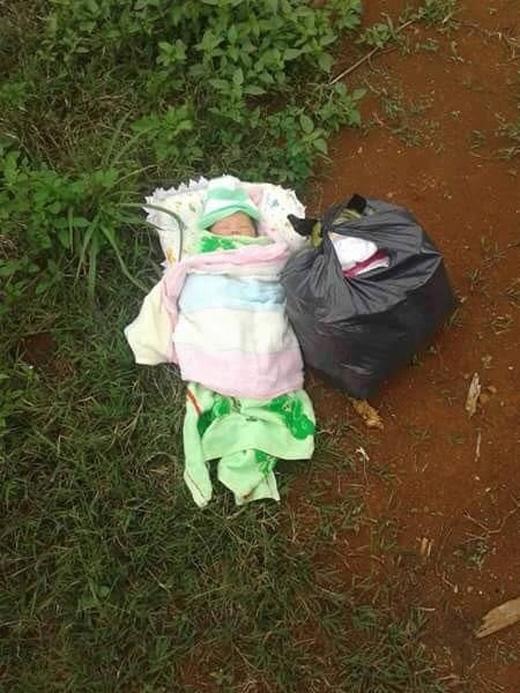 Nhiều người chia sẻ bức ảnh với mong muốn người mẹ có thể đón đứa con mình về (Ảnh: Đ.T.H).