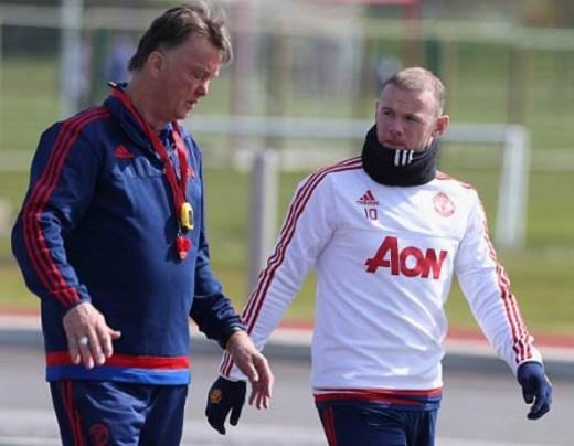 Van Gaal và Rooney